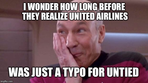 United Airlines satire